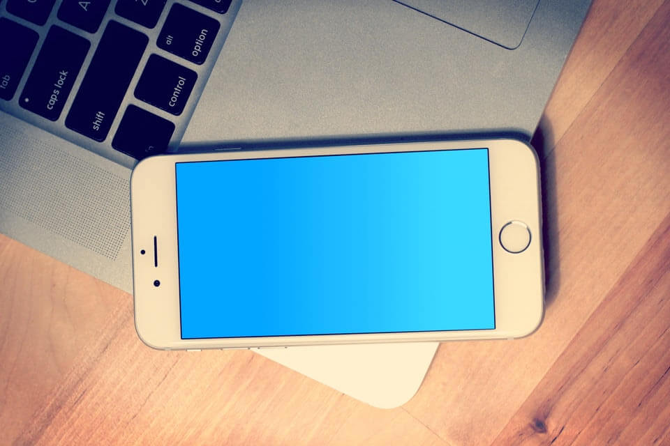 החלפת מסך אייפון בסלפי